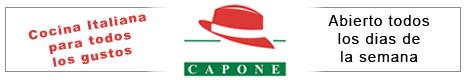 Banner Restaurante Capone